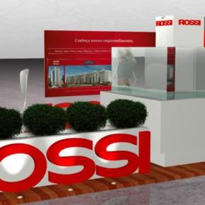 Estande Promocional da Construtora Rossi no Park Shopping