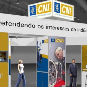 Estande CNI no Encontro Brasil Alemanha 2007