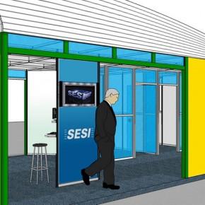 Estande SESI na Mostra Sistema FIESP de Responsabilidade Socioambiental
