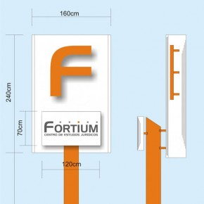 Totem de Identificacao Fortium